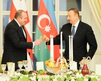 Giorgi Margvelashvili  Ilham Aliyev
