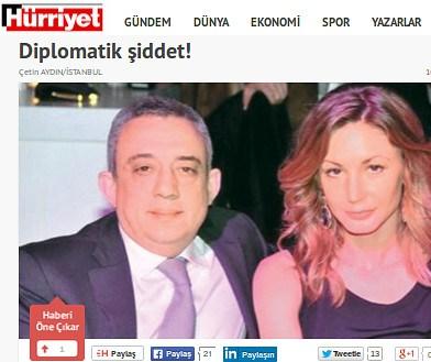Facsimile from Hurriyet