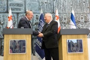 اسرائیل گرجستان رهبران
